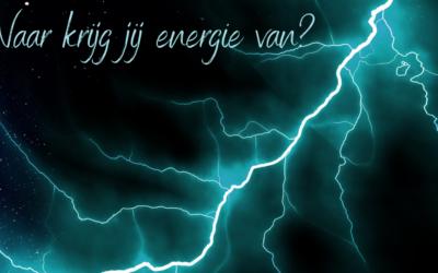 Waar krijg jij energie van?